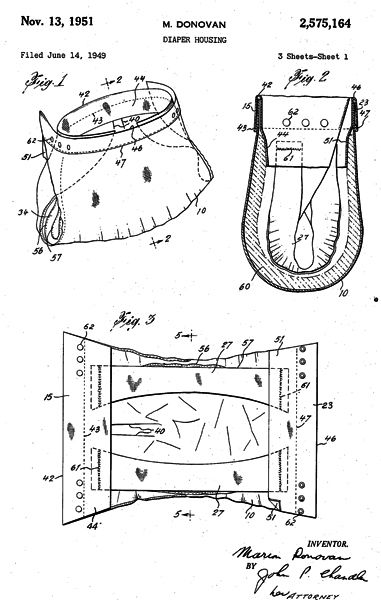 patente-pañal